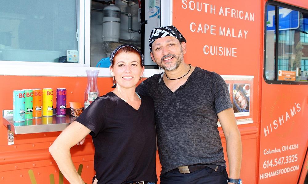 Hisham and Olivia Omardien