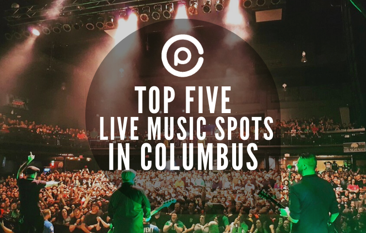 Top Five Live Music Spots in Columbus